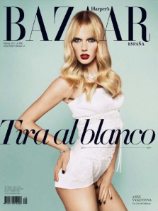 Harper's Bazaar España March 2011 Anne Vyalitsyna