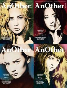AnOther Magazine SS 2011 Jennifer, Andrea, Lea & Mia by David Sims