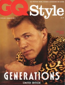 GQ Germany Spring 2011 Christoph Waltz by Giampaolo Sgura