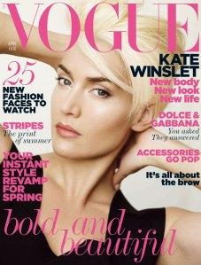 UK Vogue April 2011 Kate Winslet by Mario Testino