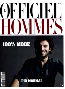 L'Officiel Hommes Paris Spring 2011 Pio Marmaï by Milan Vukmirovic