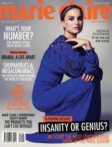 Marie Claire South Africa April 2011 Natalie Portman