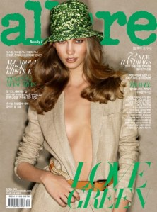 Allure Korea April 2011 Karlie Kloss by Patrick Demarchelier