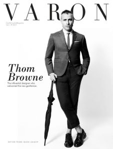 Varon Vol.1 Spring Summer 2011 Thom Browne by Chris Kraymer