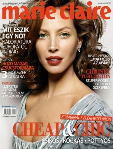 Marie Claire Hungary April 2011 Christy Turlington