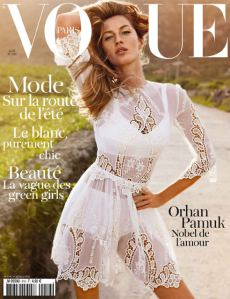 Vogue Paris April 2011 Gisele Bündchen
