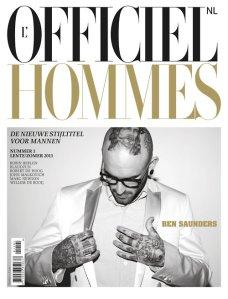 L'Officiel Hommes NL Ben Saunders Spring Summer 2011