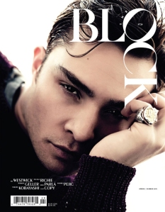 The Block No.24 Spring Summer 2011 Ed Westwick by Steven Pan