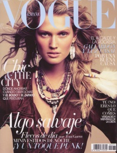 Vogue Spain April 2011 Toni Garrn by Alexi Lubomirski