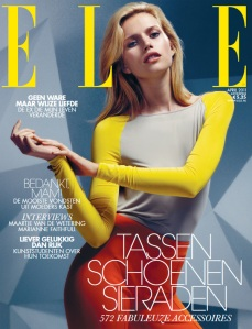 Elle Netherlands April 2011 Cato van Ee by David Slijper