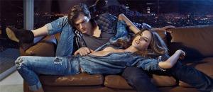 Colcci Fall 2011 Fall 2011 Ad Campaign Alessandra Ambrosio & Ashton Kutcher
