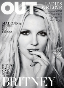 Britney Spears for Out Magazine April 2011