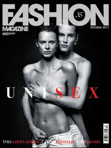 Fashion Magazine Spring 2011 The Unisex Issue Covers 2