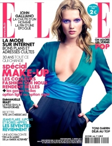 Elle France 11 March 2011 Toni Garrn