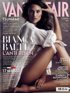 Vanity Fair Italia 23 March 2011 Bianca Balti