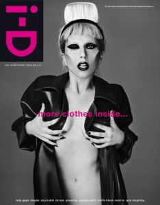 I-D Spring 2011 Lady Gaga by Mariano Vivanco