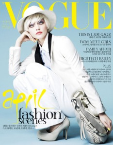 Vogue Korea April 2011 Sasha Pivovarova
